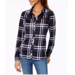 Project 28 NYC Red Checkered Long Sleeves